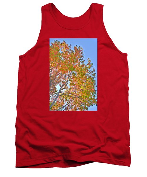 Ball To  The Wall Fall Tank Top