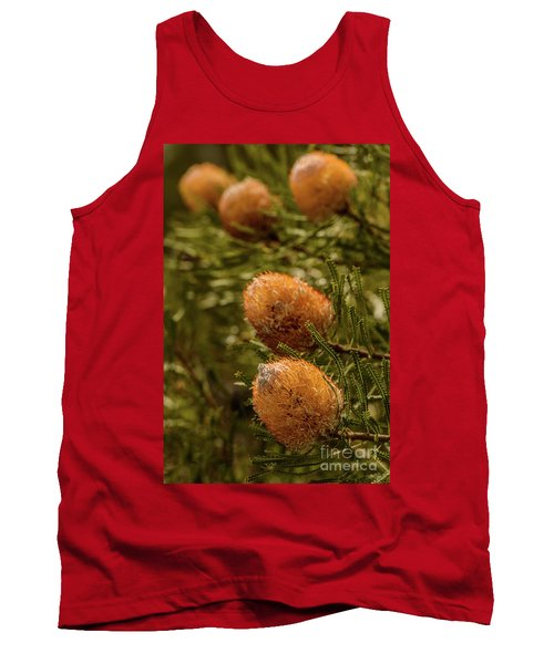 Tank Top featuring the photograph Banksia by Werner Padarin