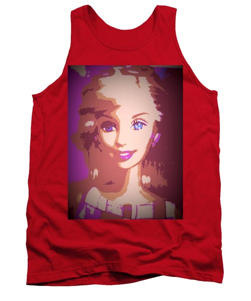 Barbie Hip To Be Square Tank Top