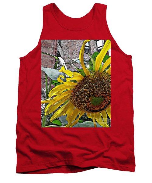 Barrio Sunflower 3 Tank Top by Sarah Loft