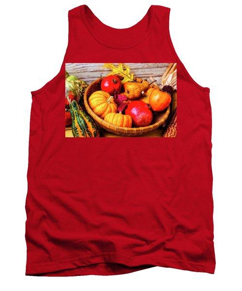 Basket Full Of Autumn Tank Top