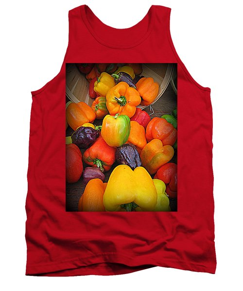 Basket Full O'peppers Tank Top