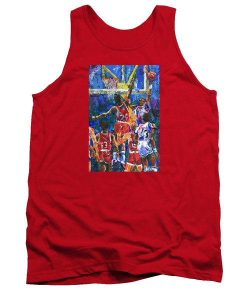 Basketball 1970s Tank Top by Walter Fahmy