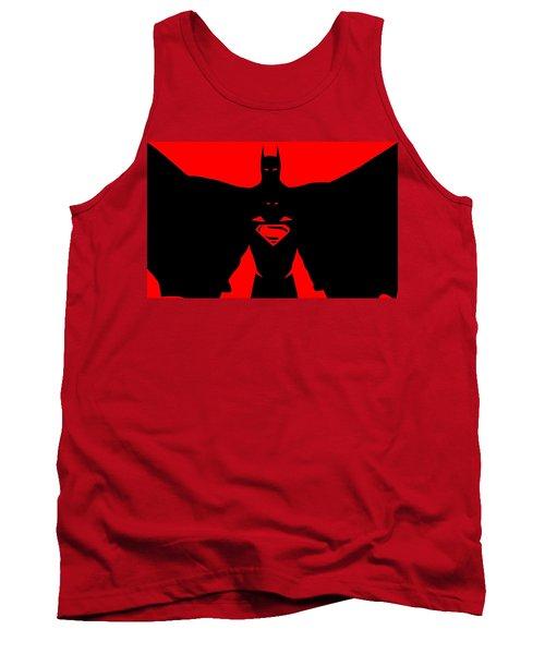 Batman/superman Tank Top