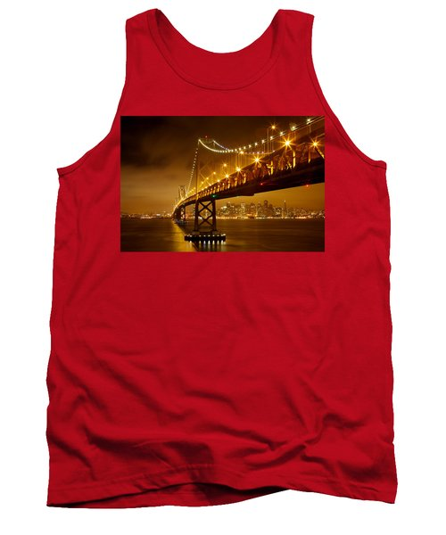 Bay Bridge Tank Top by Evgeny Vasenev