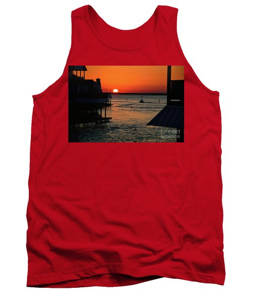 Bayou Vista Sunset Tank Top