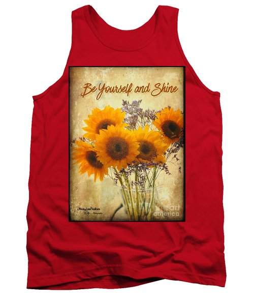 Be Yourself And Shine Tank Top