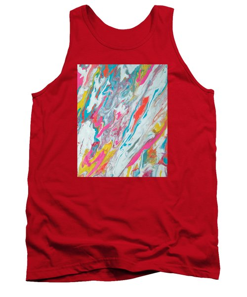 Beach House On The Moon Tank Top