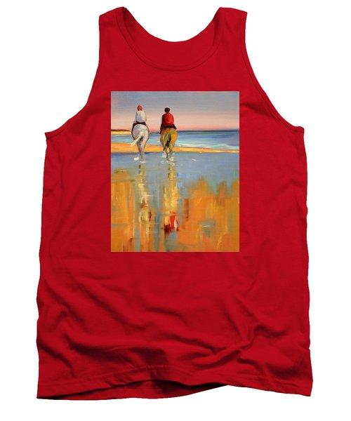 Beach Riders Tank Top by Trina Teele