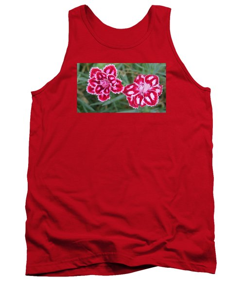 Tank Top featuring the photograph Beauties In My Garden by Jeanette Oberholtzer