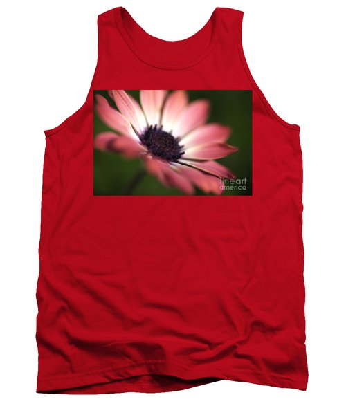 Beautiful Rich African Daisy Zion Red Flower Tank Top