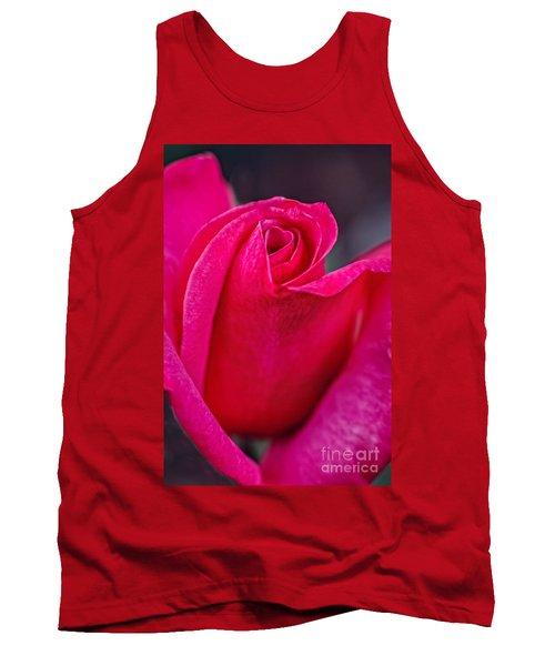 Beautiful Rose Bud Tank Top