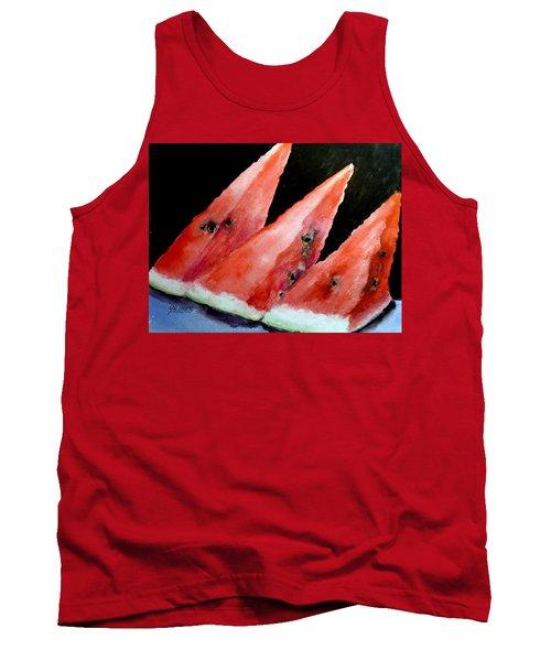 Beautiful Summer Watermelon  Tank Top