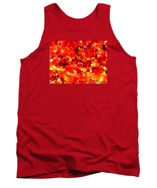 Tank Top featuring the painting Beautiful Sunrise by Holley Jacobs