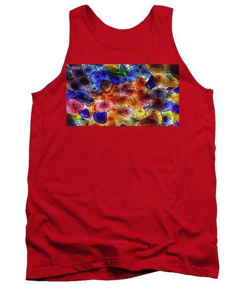Tank Top featuring the photograph Beauty All Around Us by Michael Rogers