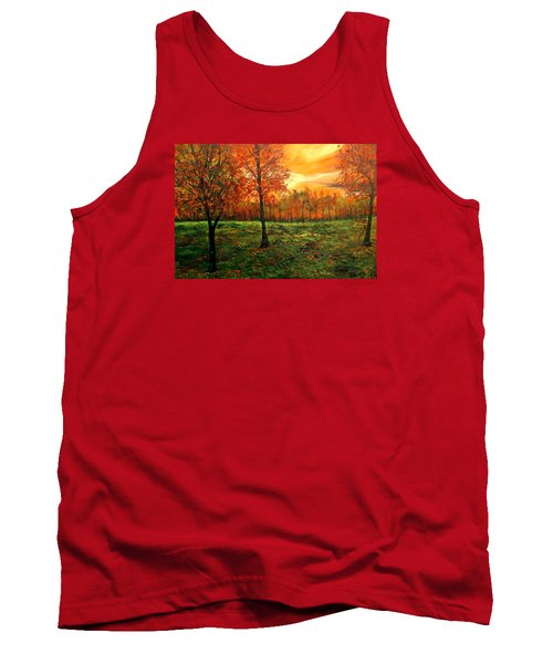Being Thankful Tank Top by Lisa Aerts