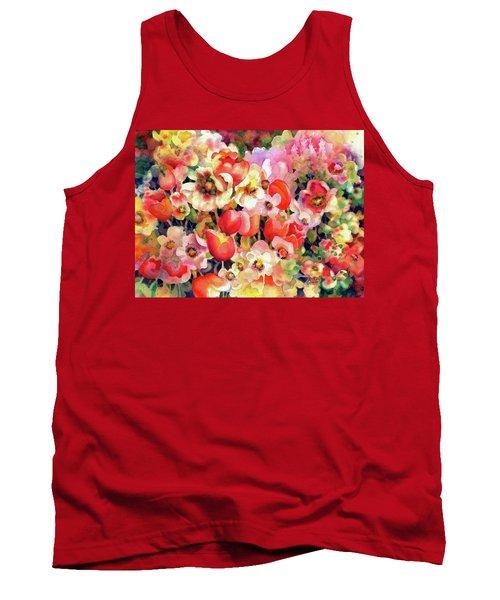 Belle Fleurs II Tank Top