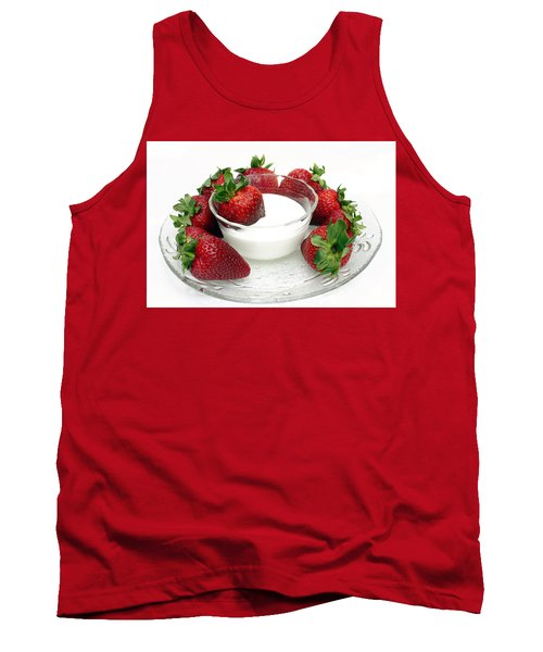 Berries And Cream Tank Top