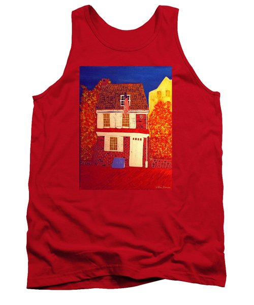 Betsy Ross's House Tank Top