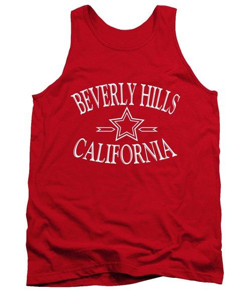 Beverly Hills California Design Tank Top