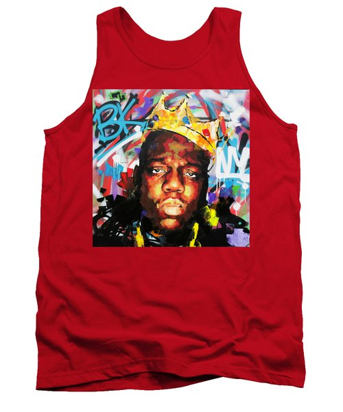 Tank Top featuring the painting Biggy Smalls IIi by Richard Day