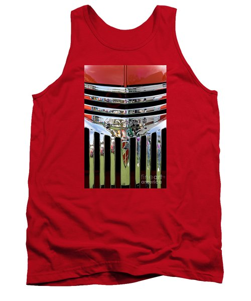 Chevrolet Grille 04 Tank Top by Rick Piper Photography