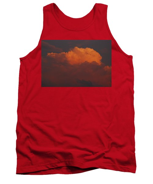 Billowing Clouds Sunset Tank Top