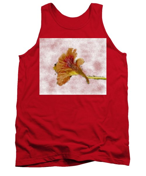 Bindweed Paiterly 1.  Tank Top by Leif Sohlman