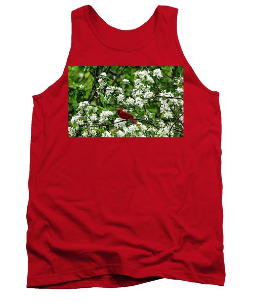 Bird And Blossoms Tank Top