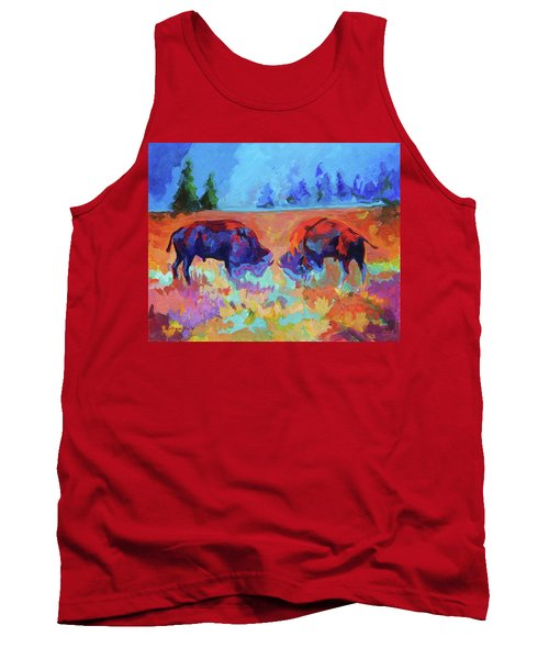 Bison Contest Tank Top