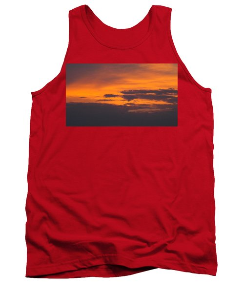 Black Cloud Sunset  Tank Top