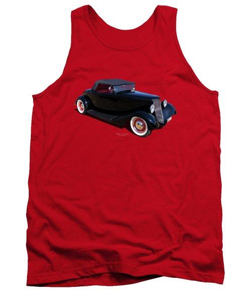 Black In Back Tank Top