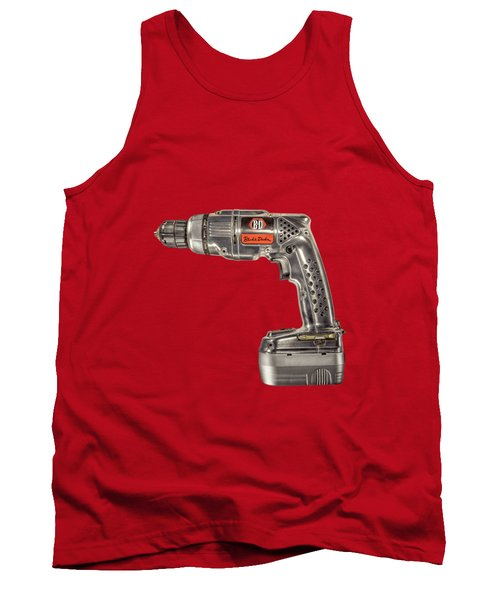 Black N Decker Retro Drill Motor Tank Top