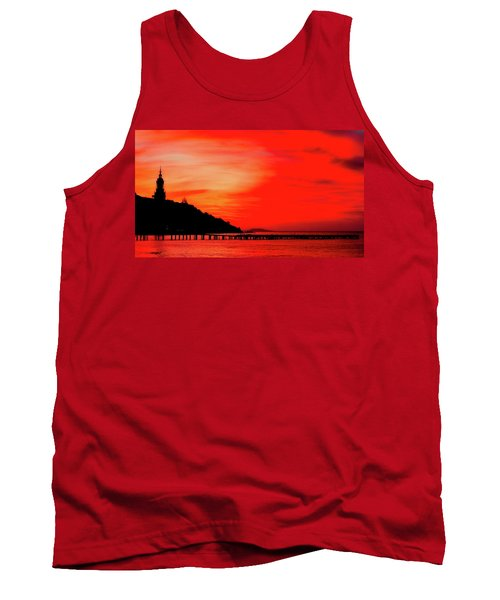 Black Sea Turned Red Tank Top by Reksik004