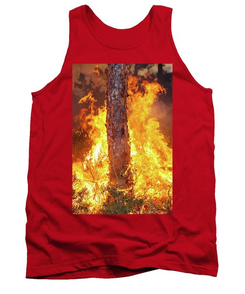 Blazing Pine Tank Top by Arthur Dodd
