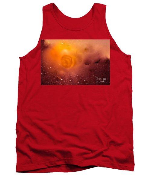 Tank Top featuring the digital art Blood Sun by Patricia Schneider Mitchell