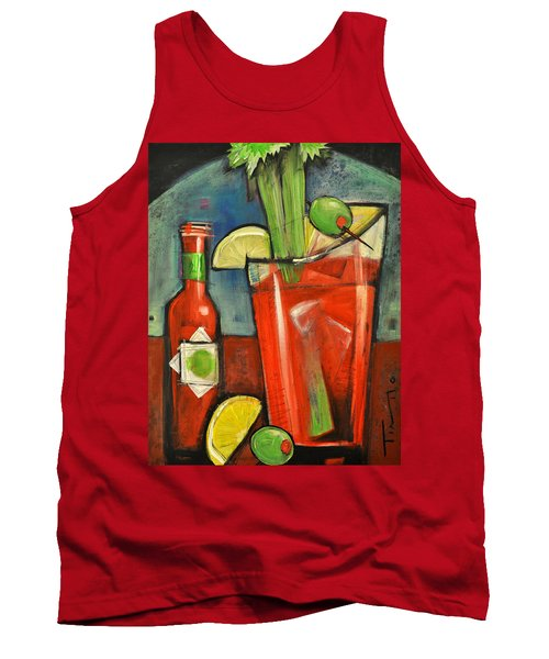Bloody Mary Tank Top by Tim Nyberg