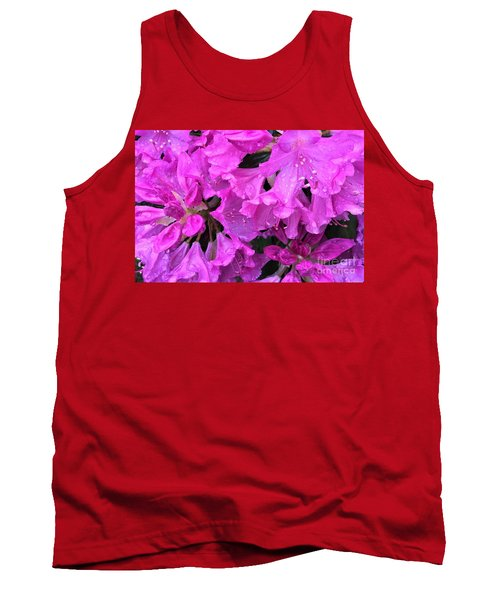 Blooming Rhododendron Tank Top