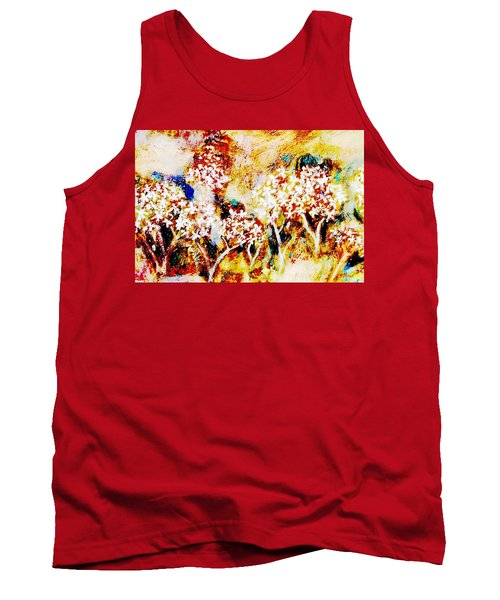 Tank Top featuring the painting Blossom Morning by Winsome Gunning