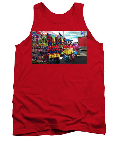 Blowed Up Tank Top by Steve Sperry