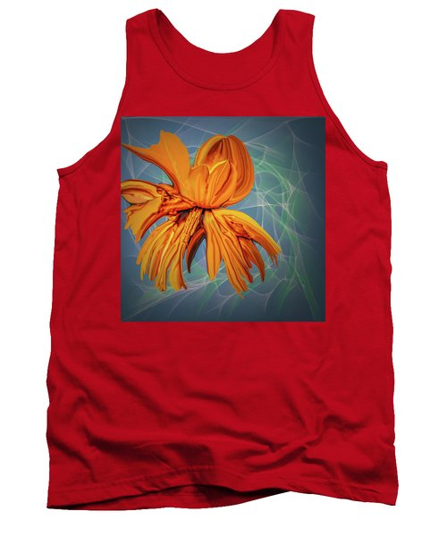 Blue And Yellow #h6 Tank Top