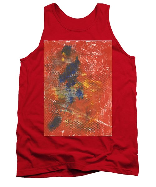 Blue Dancer Tank Top