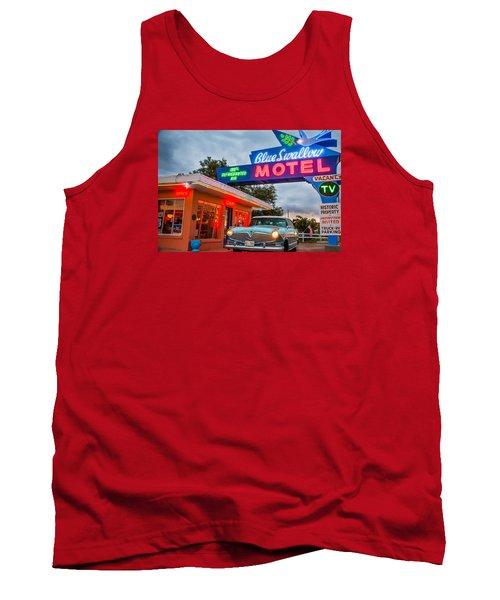 Blue Swallow Motel On Route 66 Tank Top