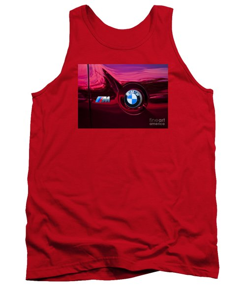 Bmw M3 Badges Tank Top