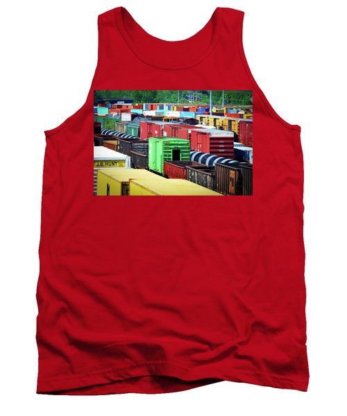 Bnsf Lindenwood Yard Tank Top