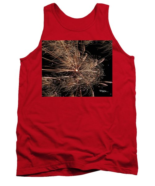 Tank Top featuring the photograph Bold Burst #0711 by Barbara Tristan
