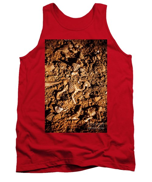 Bones From Ancient Times Tank Top
