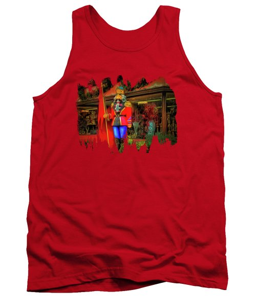 Tank Top featuring the photograph Bonjour Hello Good Day by Thom Zehrfeld