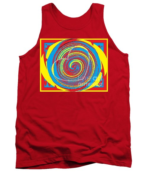Tank Top featuring the painting Boo Hearted by Catherine Lott