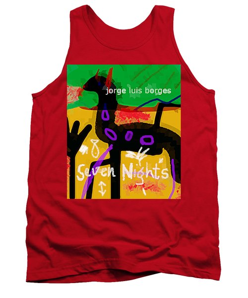 Borges Seven Nights Poster  Tank Top